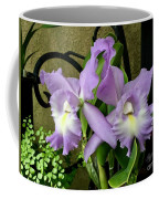 Lavender Orchids Coffee Mug