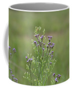 Lavender Purple Verbena Wildflowers  Coffee Mug