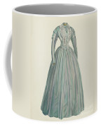 Lavender Taffeta Dress Coffee Mug