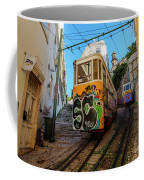 Lavra Funicular, Lisbon, Portugal Coffee Mug