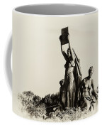 Law Prosperity And Power In Black And White Coffee Mug
