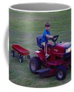 Lawnmower Boy Coffee Mug