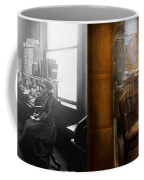Lawyer - Always Taking Notes - 1902 - Side By Side Coffee Mug