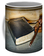 Lawyer - Truth And Justice Coffee Mug by Paul Ward