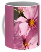 Layers Of Pink Cosmos Coffee Mug