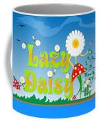 Lazy Daisy Coffee Mug