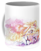 Lazy Days - Lion Coffee Mug
