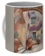 Le Arcate In Cortile Coffee Mug by Guido Borelli