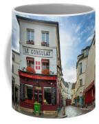 Le Consulat Coffee Mug by Inge Johnsson