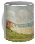 Le Crotoy Looking Upstream Coffee Mug