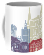 Le Havre Skyline Poster Coffee Mug