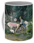 Le Heron Familier Coffee Mug