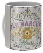 Le Marche Aux Fleurs 1 Coffee Mug
