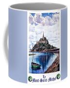 Le Mont, Saint Michel, France Coffee Mug