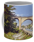 Le Pont Canal A Briare Coffee Mug