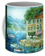 Le Port Coffee Mug by Marilyn Dunlap