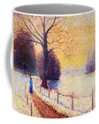 Le Puy In The Snow 1889 Coffee Mug