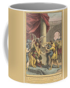 Le Roi, Le Milan, Et Le Chasseur (the King, The Kite, And The Hunter) Coffee Mug