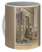 Le Thesauriseur Et La Singe (the Miser And The Monkey) Coffee Mug