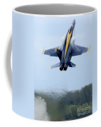 Lead Solo Pilot Of The Blue Angels Coffee Mug by Stocktrek Images