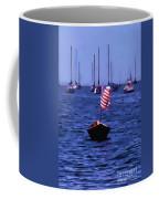Leader Of The Pack- Bristol Rhode Island Oil Effect Coffee Mug