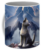 Leader Of The Pack Coffee Mug by Jerry LoFaro