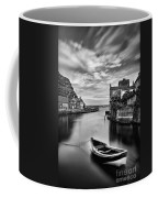 Leading Light At Staithes Coffee Mug