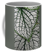 Leaf Abstract 19 Coffee Mug