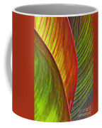 Leaf Abstract 3 Coffee Mug