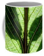 Leaf Detail Coffee Mug