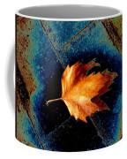 Leaf On Bricks 5 Coffee Mug