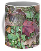 Leaf Standing Out In A Crowd Coffee Mug