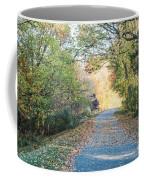 Leaf-strewn Path Coffee Mug