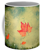 Leaf Upon The Water Coffee Mug by Bill Cannon