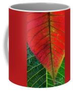 Leafs Macro Coffee Mug by Carlos Caetano