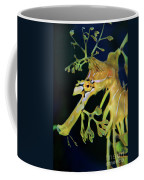 Leafy Sea Dragon Coffee Mug by Mariola Bitner