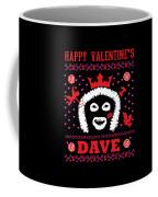 League Of Gentlemen Papa Lazarou Happy Valentine's Dave Coffee Mug