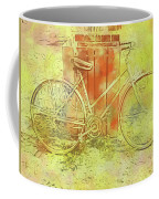 Leaning In Bicycle Coffee Mug