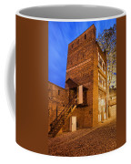 Leaning Tower By Night In Torun Coffee Mug