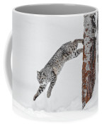 Leapin Bobcat Coffee Mug