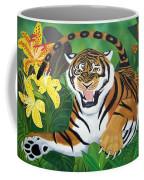 Leaping Tiger Coffee Mug