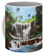 Leaping Waterfall Coffee Mug