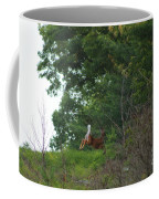 Leaping White-tail  Coffee Mug
