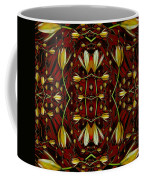 Leather In Floral Harmony And Peace Coffee Mug