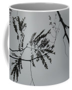 Leaves Against A Grey Sky Coffee Mug