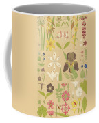 Leaves And Flowers From Nature Coffee Mug