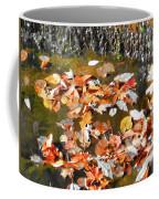 Leaves Are Falling Coffee Mug