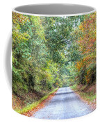 Leaves Changing In The Fall Near Collierville,tn Coffee Mug