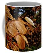 Leaves In Late Autumn Coffee Mug