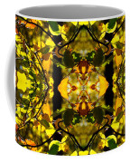 Leaves In The Fall Design Coffee Mug